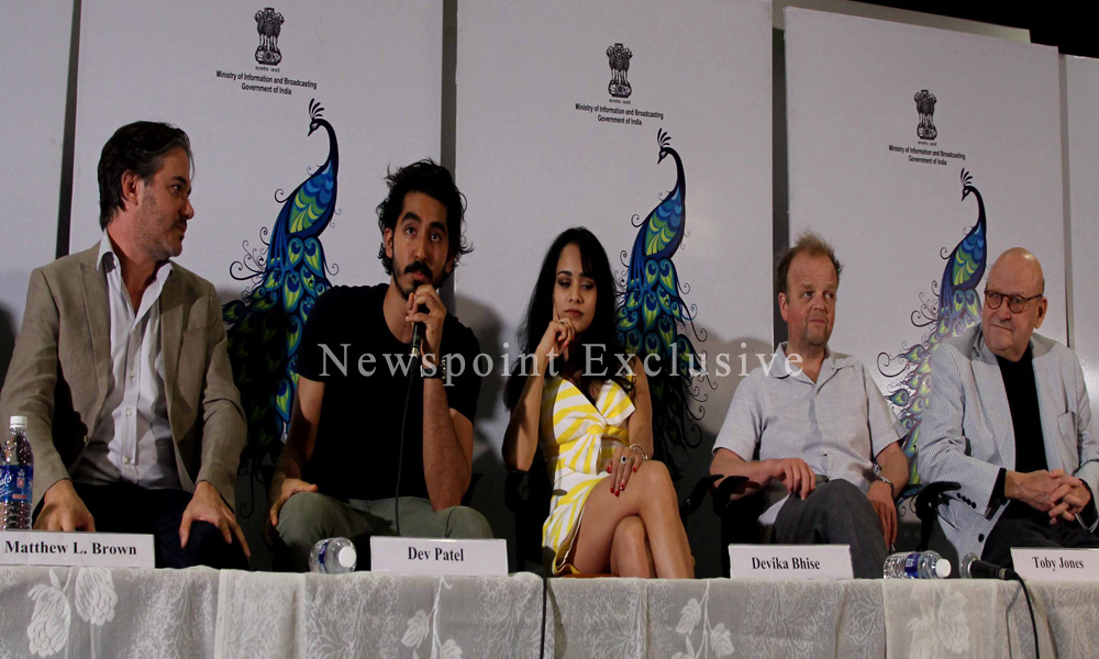 Goa: 20 Nov 2015: Dev Patel`s `The Man Who Knew Infinity` to kick off 46th International Film Festival of India