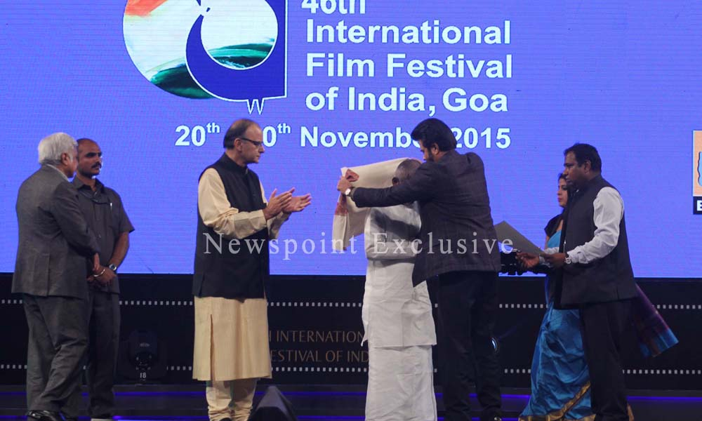Goa: 21st Nov 2015: The 46th International Film Festival of India, IFFI, got-off to a colourful start