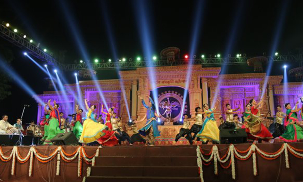 Delhi,  4 Nov 2015: 1st edition of the Rashtriya Sanskriti Mahotsav is underway with an aim