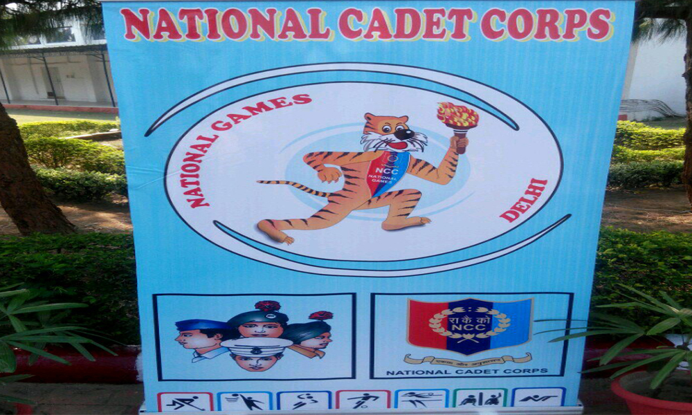 Delhi, 17 Oct. 16: NCC National Games-2016 formally declared open by Officiating DG NCC Maj Gen JS Sandhu at Cantt.