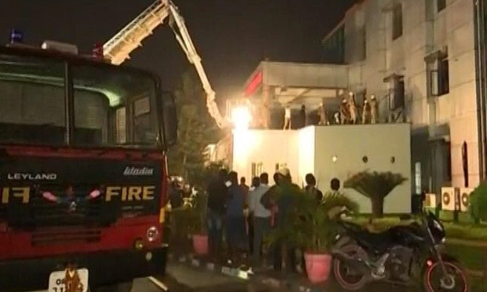 BHUBANESWAR, 18 Oct. 16: At least 22 patients were killed and several injured after a major fire broke out at the Sum Hospital.
