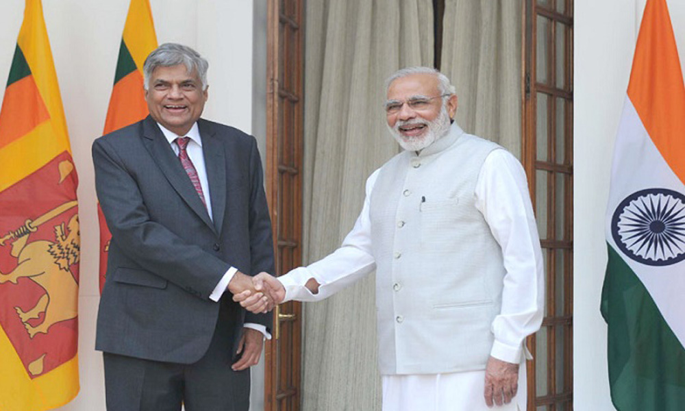 Delhi, 05 Oct. 2016: Visiting Sri Lankan Prime Minister Ranil Wickremesinghe will meet Prime Minister Narendra Modi today