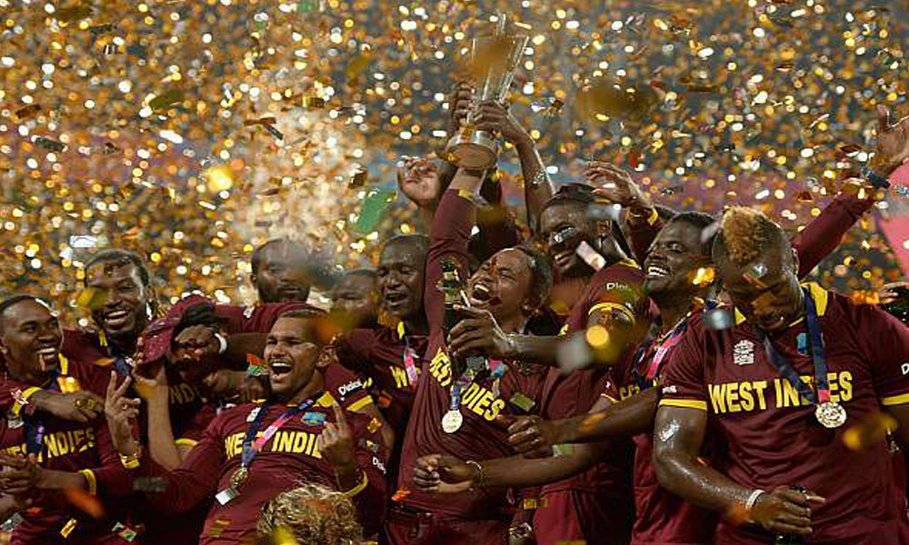 Kolkata,4th April 2016: West Indies become world champion 2nd time.