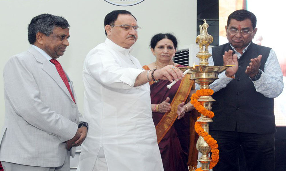 Delhi, 28 June 2016: Nursing courses can be blended with Skill India training courses: MoHFW INDIA JPNadda