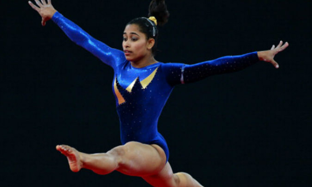 Rio, 15th August 2016: The whole nation is proud on Indian woman gymnast Deepa Karmakar as she finishes fourth at Rio Olympics