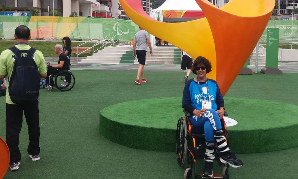 Rio, 13th Sep 2016: Deepa Malik won silver medal in shot put; becomes first Indian women to win medal in Paralympics.