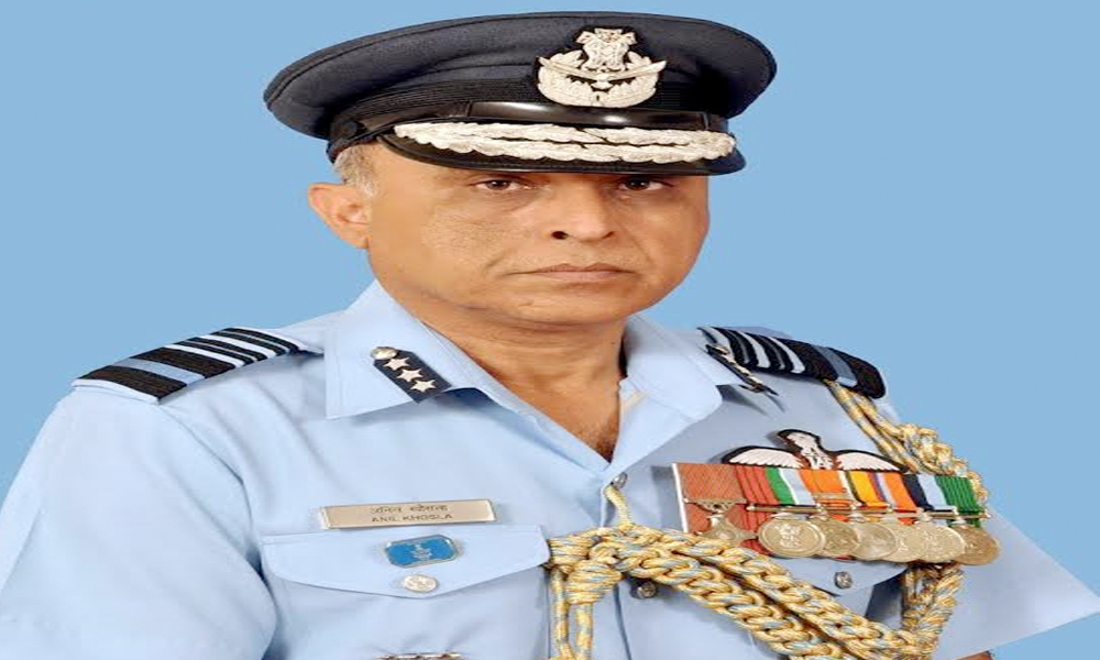 02 Jan. 17: Anil Khosla takes over as IAF Commander-in-Chief, Eastern Air Command.