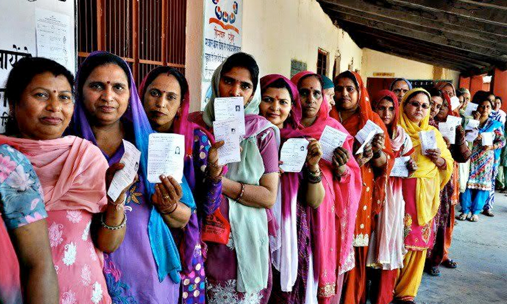 Goa, 3rd Feb.2017: 40 all-women managed polling stations set up to motivate women`s participation in the electoral process