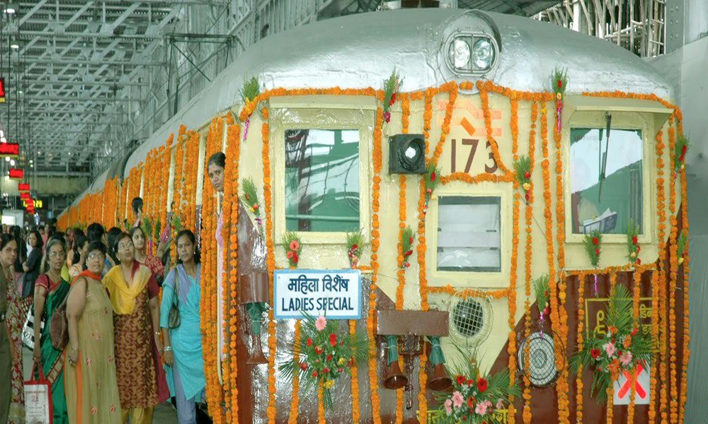 Mumbai, 5th May.2017: Celebration of 25th anniversary of first ever Ladies Special Train in world which ran on Western Railway's Mumbai suburban section
