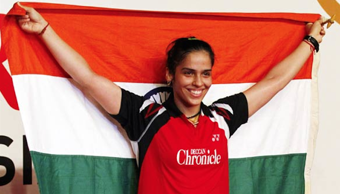 Saina Nehwal gets number one position in world rankings