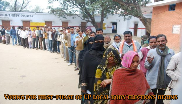 Uttar Pradesh Civic Polls: Voting for first phase of UP local body elections begins