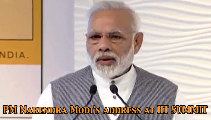 PM Narendra Modi's address at HT SUMMIT