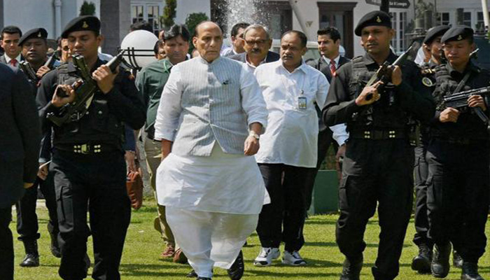 Rajnath Singh: Army doing its job, resolving Kashmir issue will take time