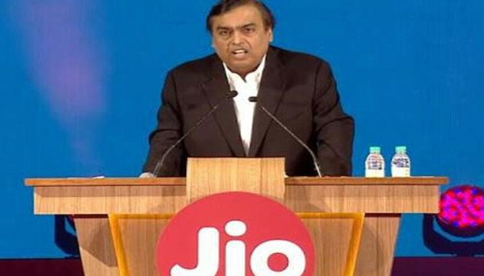 Reliance Industries chairman Mukesh Ambani addressed the company's Annual General Meeting today