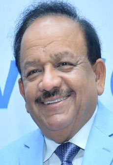 Dr. Harsh Vardhan at the launch of the global cooling innovation summit