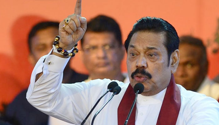 Sri Lankan Parliament passes no confidence motion against new PM Rajapaksa