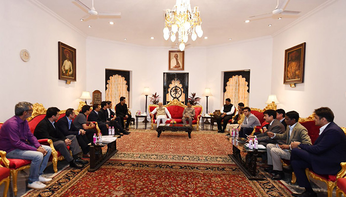 Delegation from Film and Entertainment Industry meets PM Narendra Modi