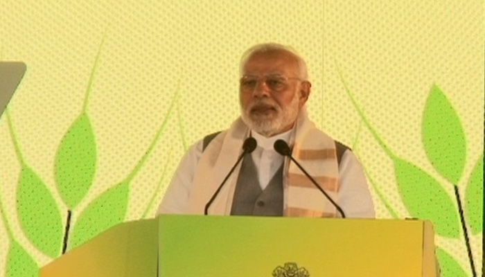 PM: Doubling farmers income our prime focus