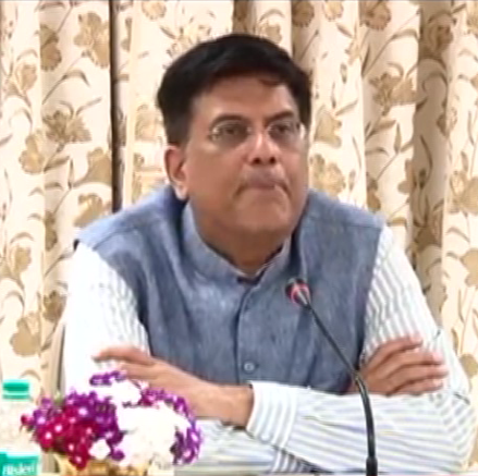 Railway Minister Piyush Goel Speaks on RRB recruitment 2018