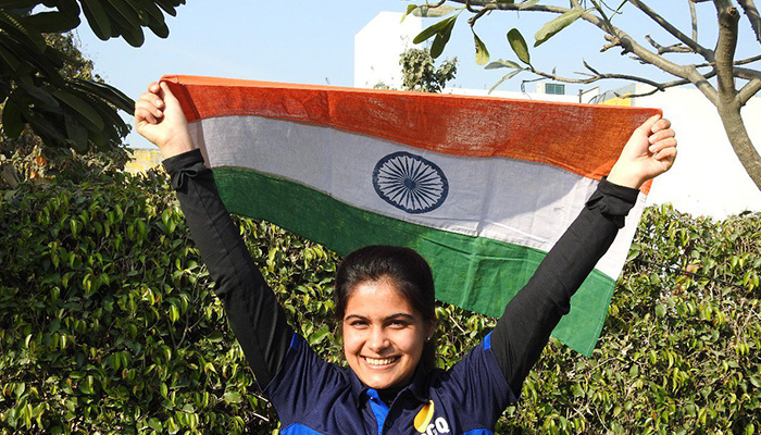 Manu Bhaker strikes successive second gold