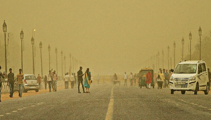Delhi Dusty Conditions Likely Over the Next Two Days