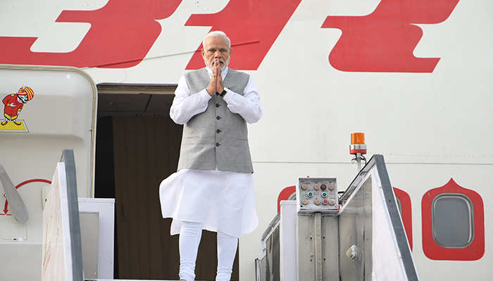 PM Narendra Modi leaves for China to attend SCO Summit