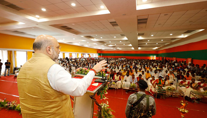 BJP President Amit Shah reviews poll readiness in Jharkhand