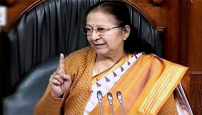 LS Speaker Sumitra Mahajan writes to MPs, says it`s time to introspect