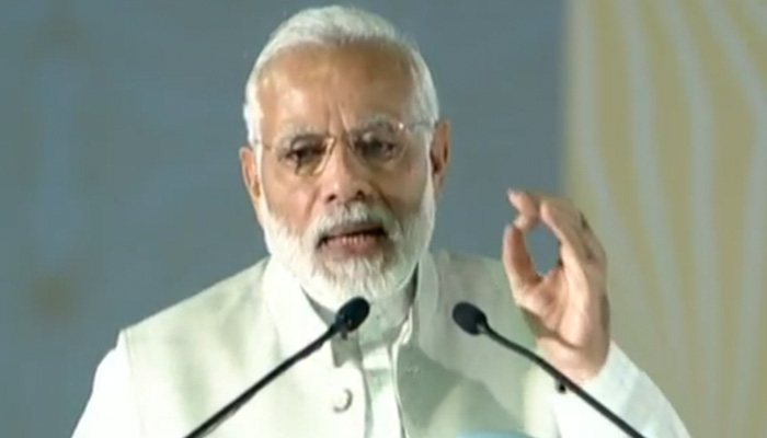 PM Modi lays foundation stone for world-class convention centre in Delhi