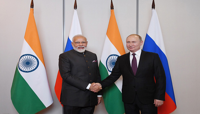 # BRICSSummit: Vladimir Putin invites PM Modi for Victory Day celebrations in May