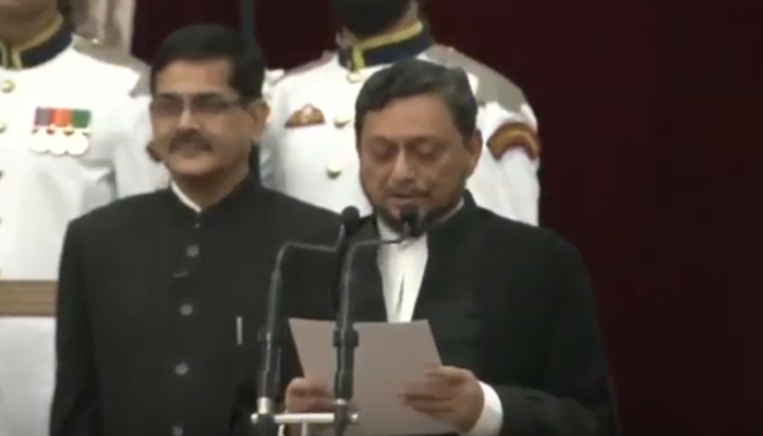 Watch Video: Justice Bobde sworn-in as 47the Chief Justice of India