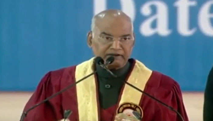President's address at the 26th Convocation of North Eastern Hill University NEHU in Shilong