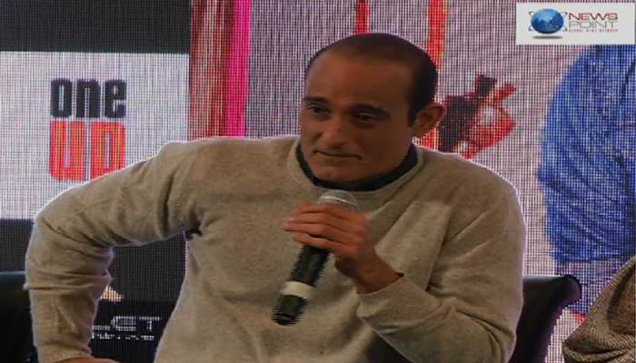 Film Star Akshaye Khanna on