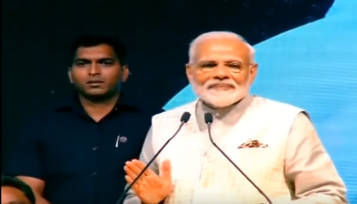 Congress of building false narrative around EVMs & demonetisation: PM Modi