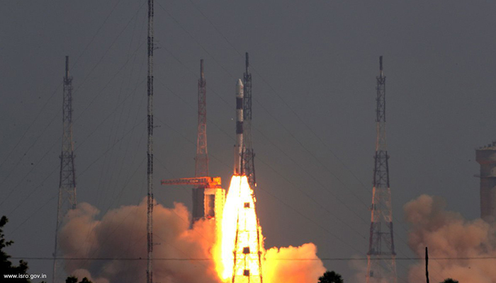 ISRO launches radar imaging satellite RISAT 2B