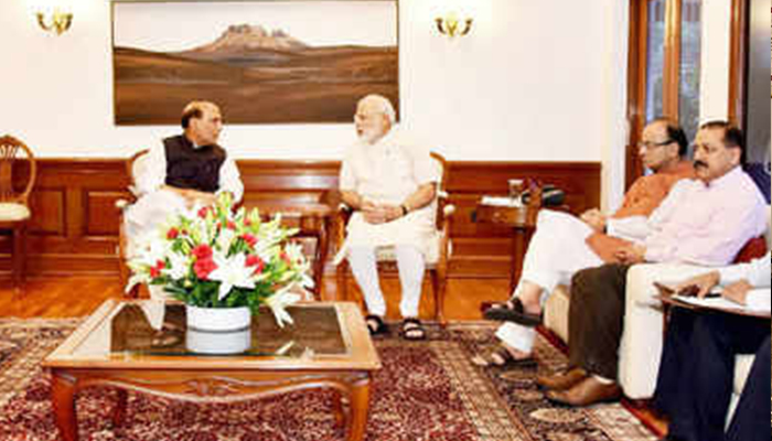 Union cabinet to meet this evening; recommend dissolution of 16th Lok Sabha
