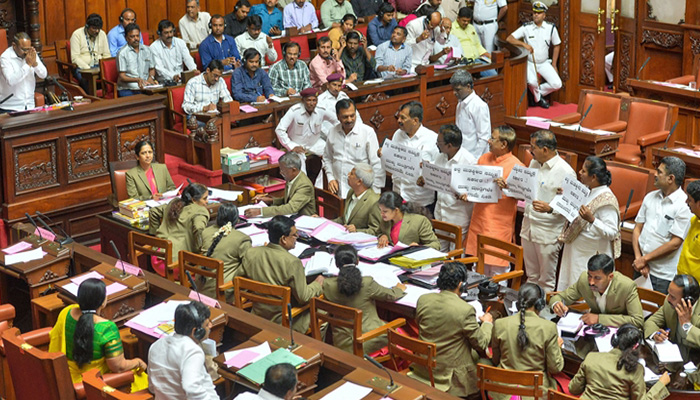 Congress-JD(S) coalition govt to face trust vote in Karnataka Assembly today