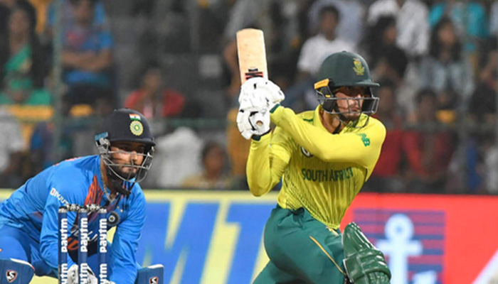Ind vs SA T20I: South Africa level three match series