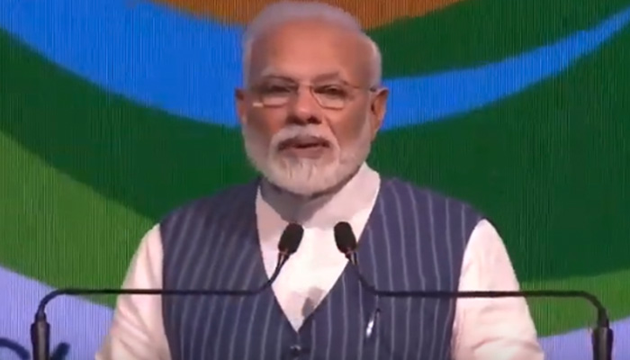 We are working with a motto of per drop more crop: PM Modi