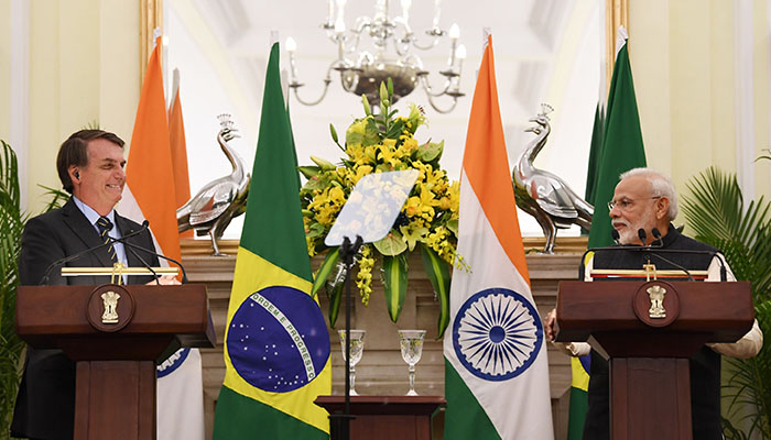India and Brazil signs 15 agreements