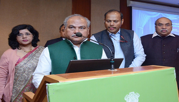 Union Minister Narendra Singh Tomar launches PM KISAN mobile App