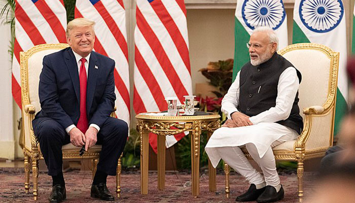 PM Modi holds telephonic conversation US President Donald Trump