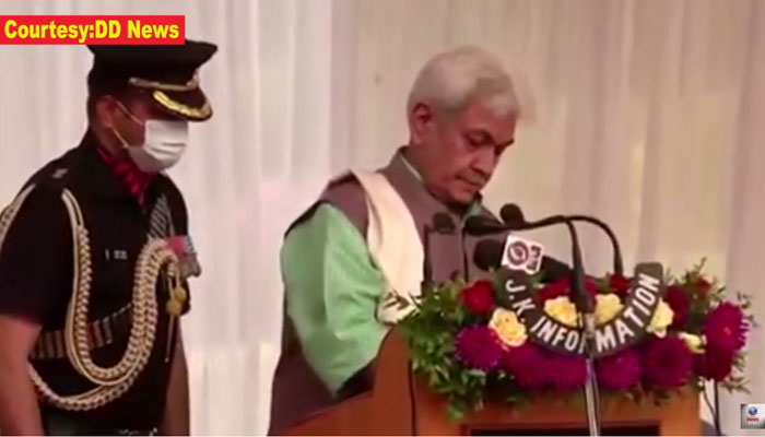 Manoj Sinha takes oath as new Lieutenant Governor of J&K