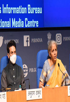 Post Budget Press Conference By Union Finance Minister Nirmala Sitharaman