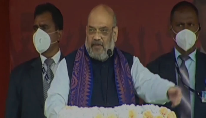 Every female college going girl will be given scooters- Amit Shah in Assam